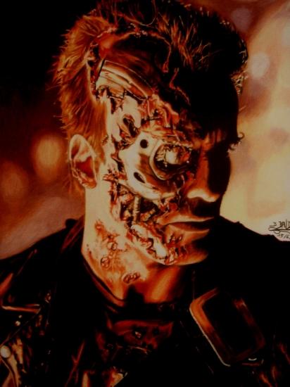 Arnold Schwarzenegger par Bertrand